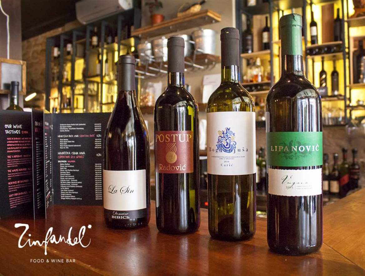 Zinfandel food and wine bar awarded world 39 s best wine list for Food wine bar zinfandel